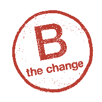 B the Change transparent logo
